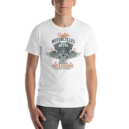 Custom motorcycle T shirt Short-Sleeve Unisex Bella Canvas 3001