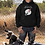 Thumbnail: Biker hoodie  unisex-God created biker