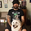 Thumbnail: No fear no pain biker T shirt Short-Sleeve Unisex Bella Canvas 3001