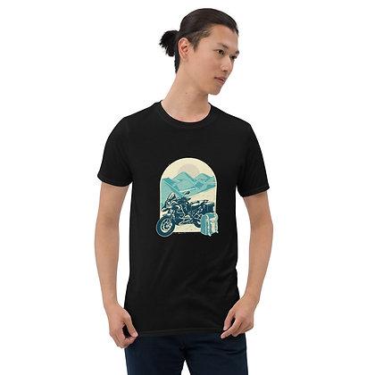 Adventure biker Man T shirt Short-Sleeve Unisex