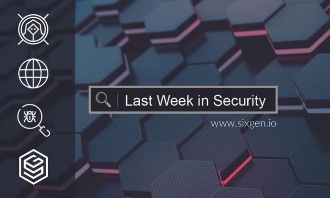 Last Week in Security - 2021-01-11
