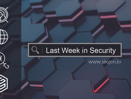 Last Week in Security - 2020-07-20