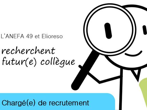 ELIORESO & ANEFA recrutent leur chargé(e) de projet emploi