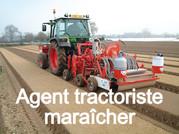 FORMATION EN ALTERNANCE : démarrage du parcours d'Agent tractoriste maraîcher.