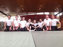 Groupe des ceintures orange - mai 2016