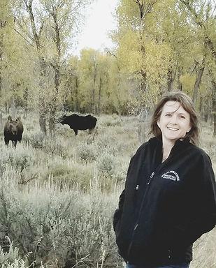 Lori Altebaumer on an adventure