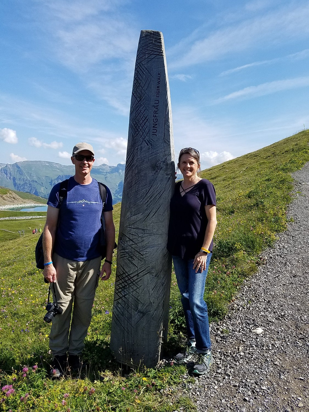 Hiking on Eiger