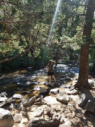 Lori's outdoor adventure