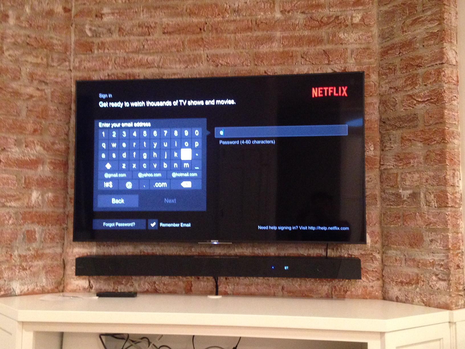 "TV Install - Brick (up to 70"")"
