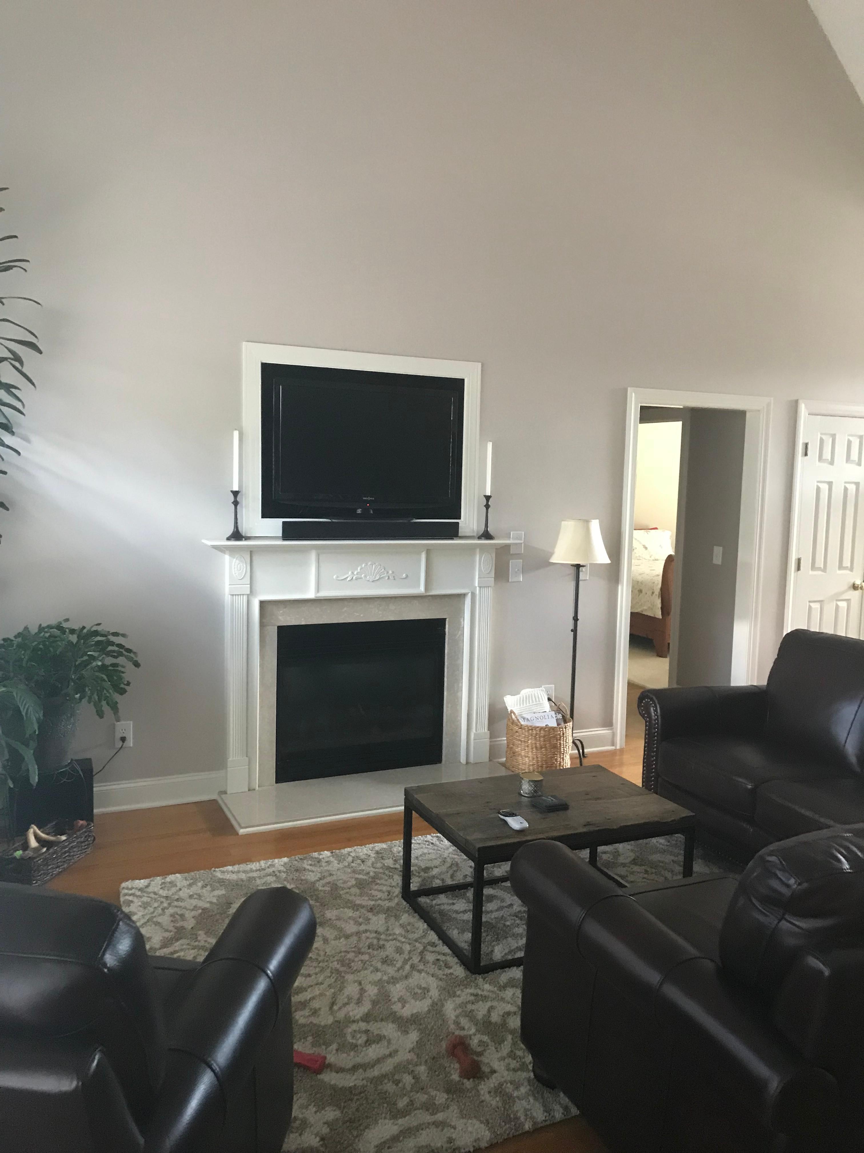 Fireplace Nook TV Install