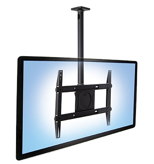 ceiling mounted TV, TV from ceiling, TV hang