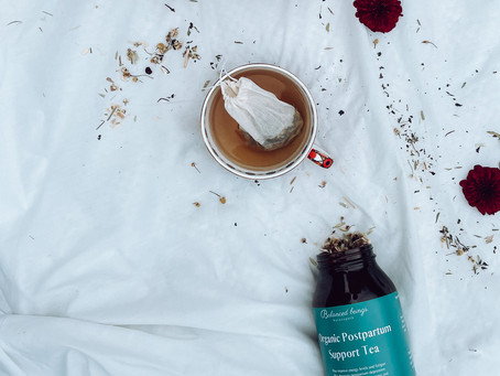 Why you need our Postpartum Support Tea in your life