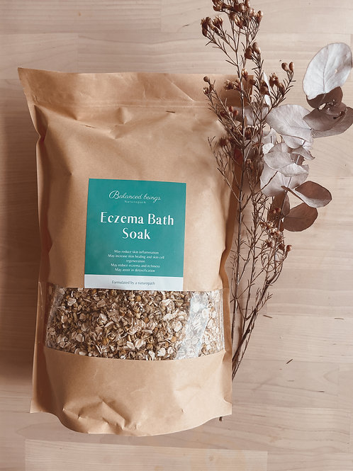 Large Eczema Bath Soak 1.5kg