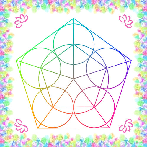 Crystal Grid Board - The Pentagram