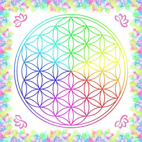 Crystal Grid Board - Flower of Life