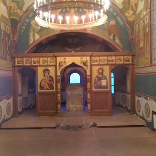 Роспись храма Всех Святых