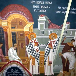 Роспись храма свт.Николая Чудотворца