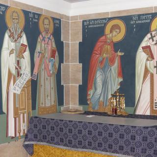 """Роспись храма Христианского центра """"Покров"""""""