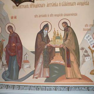 Роспись храма Всех Преподобных