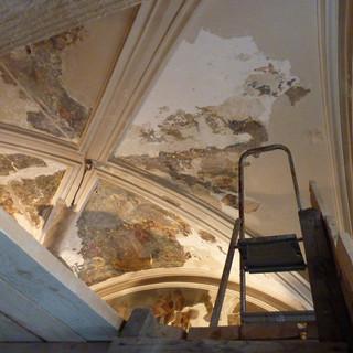 Реставрация живописи храма свт. Николая в Подкопаях