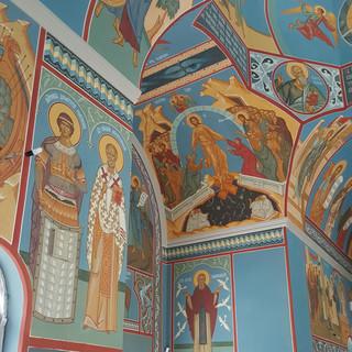Роспись храма Александра Невского