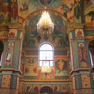 Роспись собора Афанасия и Феодосия ЧереповецкихРоспись собора Афанасия и Феодосия Череповецких