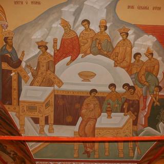Роспись храма Спаси Преображения на Песках