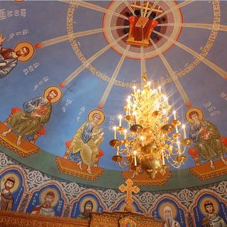 Роспись храма прп. Сергия Радонежского