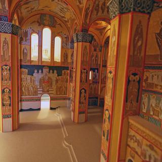 Макет храма Серафима Саровского