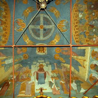 Роспись храма прп. Симеона Столпника