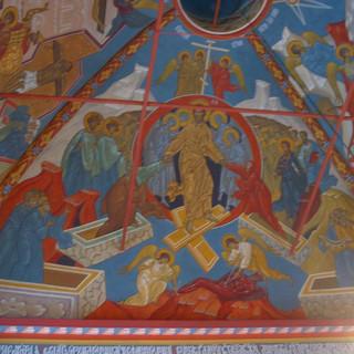 Роспись храма Спаса Нерукотворного Образа на Сетуни