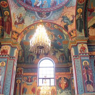 Роспись собора Афанасия и Феодосия Череповецких