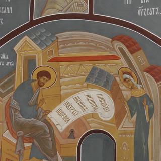 Роспись храма Сошествия Святого Духа