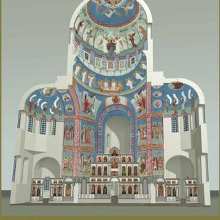 Проект росписи собора