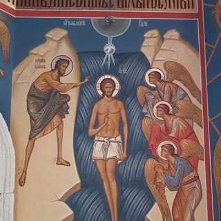 Роспись часовни Иоанна Богослова