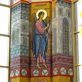 Роспись храма вмч.Георгия ПобедоносцаРоспись храма вмч.Георгия Победоносца