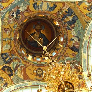 Роспись храма вмч.Георгия Победоносца