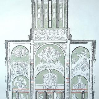 Роспись храма пророка Илии