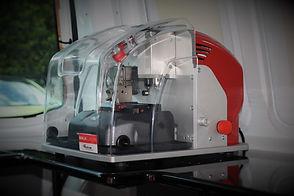 Latest equipment Keyline Ninja Laser.JPG