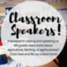 Interested in visiting classrooms to tal