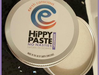 Hippy Paste natural deodorant: Review