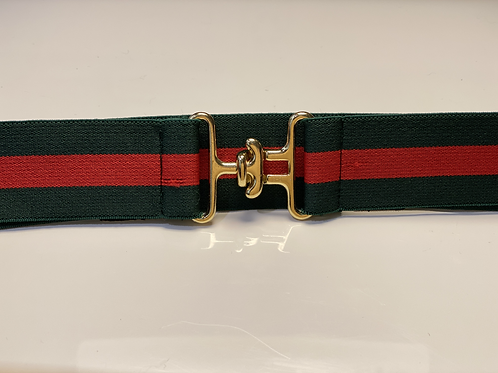 "1.5"" Red/Green 3-Stripe"