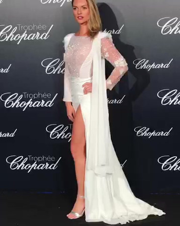 Fancy Alexandersson attends the Trophee Chopard during the 71st annual Cannes Film Festival at Hotel Martinez on May 14, 2018 in Cannes, France.