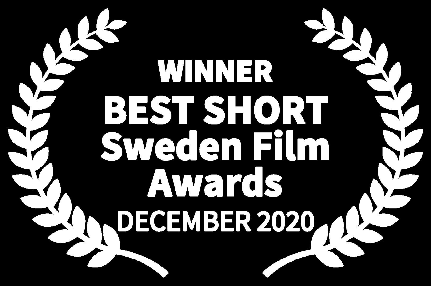 WINNER - BEST SHORT Sweden Film Awards -