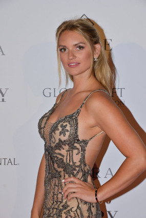 Fancy Alexandersson at Global Gift Initiative at Cannes Film Festival.