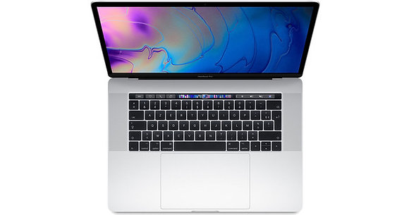 "Apple Macbook Pro Touchbar 15"" (2019) 2.6GHz i7 - Silver"