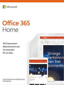 Office 365 Home (6 pers.) + installatie