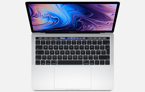 "Apple Macbook Pro Touchbar 13"" (2019) 2.4GHz i5 - Silver"
