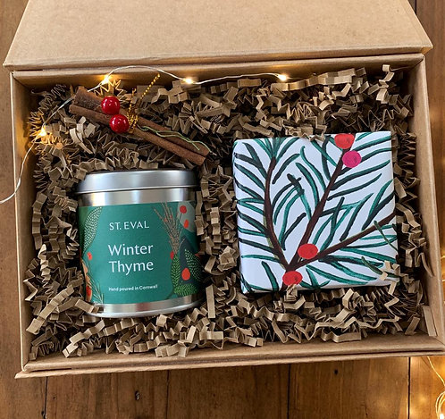 Thinking of you this Christmas Gift Box for a friend living abroad