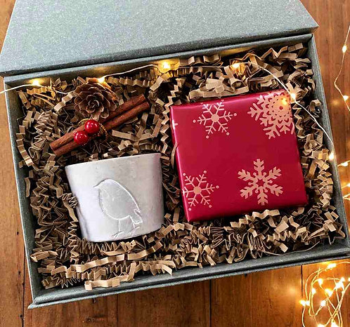 Christmas Gift box | The Little Robin
